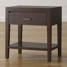 how tall are nightstands nightstands and bedside tables crate and barrel