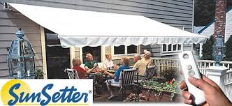 Motorized Awnings For Sale Sunsetter Awnings