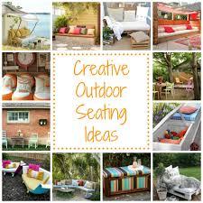 12 outdoor seating ideas homes com