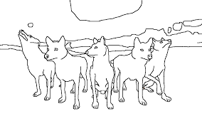 gray wolf coloring pages laura williams