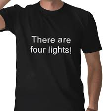 four lights yesterday u0027s cheese there are four lights on a t shirt