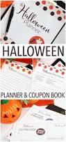 printable halloween planner u0026 coupon book sunny family