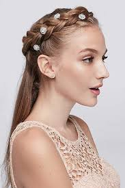 prom hair accessories hair accessories for all occasions on sale david s bridal