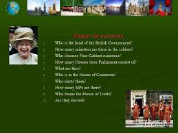 Members Of British Cabinet презентация на тему