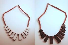wooden necklaces watched items vintage wooden necklaces the fader