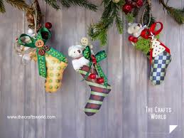 christmas stockings decorations ideas with tutorials
