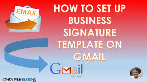 Setting Up A Business Email by How To Create A Business Email Template Youtube
