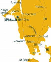 Hummingbird Map While You U0027re Here U2013 Bear Valley Cottage