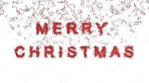 merry christmas musical notes u2014 stock photo bgkovak