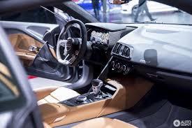 Audi R8 Interior - 2016 audi r8 presented at the 2015 geneva motor show interior