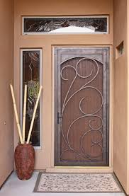 Unique Front Doors Unique Home Designs Security Door Prepossessing Home Ideas Pretty