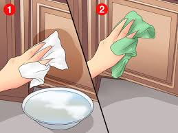 how to clean matte black cupboards 3 ways to clean laminate cabinets wikihow