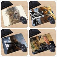 Gaming Desk Mat Chewbacca Wars Gaming Desk Mat Personalized Durable Mouse