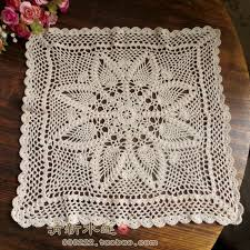 beautiful table cloth design 2014 new free shipping cotton crochet lace sofa cover cabinet