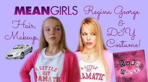 Mean Girls Regina George Makeup Hair U0026 Diy Halloween Costume