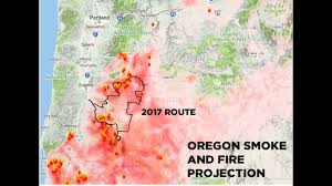 map of oregon evacuation c o wildfires prompt cycle oregon cancellation ktvz