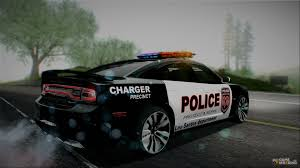 2012 dodge charger srt8 police interceptor lspd for gta san andreas