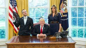 Oval Office Through The Years Q U0026a With The U0027sassy U0027 Teacher Of The Year Nikos Giannopoulos About