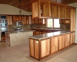 Unfinished Kitchen Islands Unfinished Kitchen Cabinets Ward Log Homes