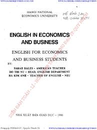 ENGLISH IN ECONOMICS AND BUSINESS HANOI NATIONAL ECONOMICS