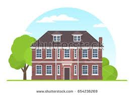 House Flat Design Houses Vector Colorful Flat Style Icons Stock Vector 627230429