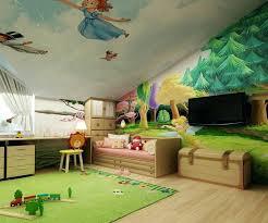 fresque murale chambre fresque murale chambre fille la peinture murale chambre bebe fille