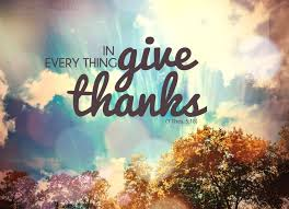 live in thanksgiving daily in everything give thanks