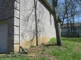 Sloping Lot Sloped Yard Drainage Question Foundation Drainage Pipe