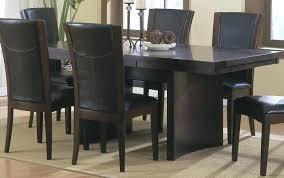 espresso dining room table and chairs color colored sets modern