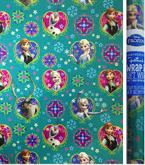 cheapest place to buy wrapping paper disney frozen gift wrap 20 sq ft roll toys