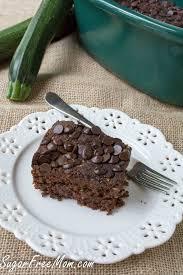 crock pot sugar free chocolate zucchini cake