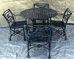 Best Cast Aluminum Patio Garden Furniture Images On Pinterest - Patio furniture made in usa