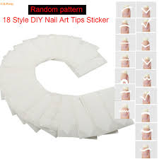 french manicure nail tip guide strips u2013 new super photo nail care blog