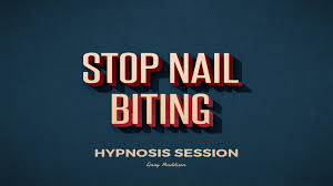 stop nail biting hypnosis session youtube