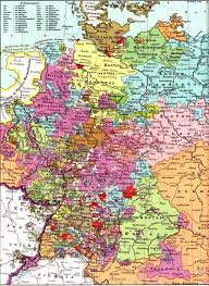 Trier Germany Map by German States To 1918 N Q