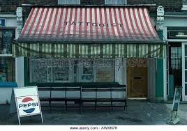 Red And White Striped Awning Shop Awnings Striped Stock Photos U0026 Shop Awnings Striped Stock