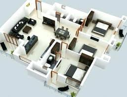 one bedroom home plans low budget modern 3 bedroom house design modern 3 bedroom house