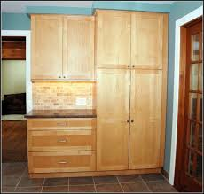 tall solid pine kitchen cabinet pantry pantry home design