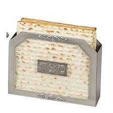 matzah holder glass matzah holder
