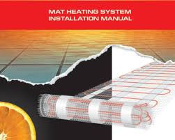 mat heating system installation manual