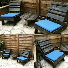 Black Pallet Patio Furniture 30 Diy Pallet Ideas For Your Home