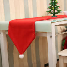 aliexpress buy navidad santa claus hat table runners 2017