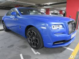 rolls royce wraith blue rolls royce wraith black badge 10 august 2017 autogespot