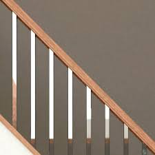 chrome banister rails stair railing parts metal banister home wood railings stairs our