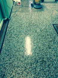 terrazzo tiled church floor restored in redhill cleaning and