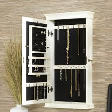 Over The Door Jewelry Cabinet Jewelry Armoire Special Diy Standing Jewelry Armoire Image Of