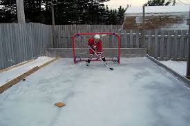 Backyard Ice Skating by Backyard Ice Rink Thickness Outdoor Furniture Design And Ideas