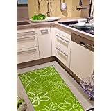 Green Kitchen Rugs Amazon Co Uk Green Runners Carpets U0026 Rugs Home U0026 Kitchen