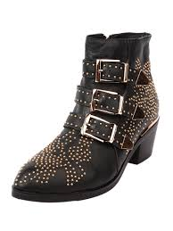 s boots with buckles black pointed stud buckle ankle boots choies com ankle