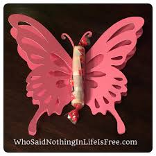 diy kids butterfly valentines using a silhouette machine who